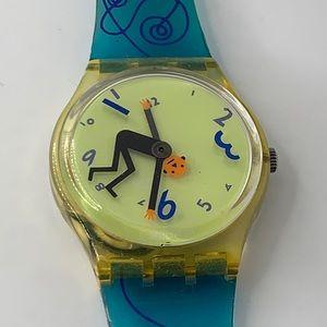 """Vintage Swatch """"Weightless"""" 1996"""